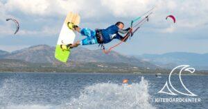 Freestyle kitejump