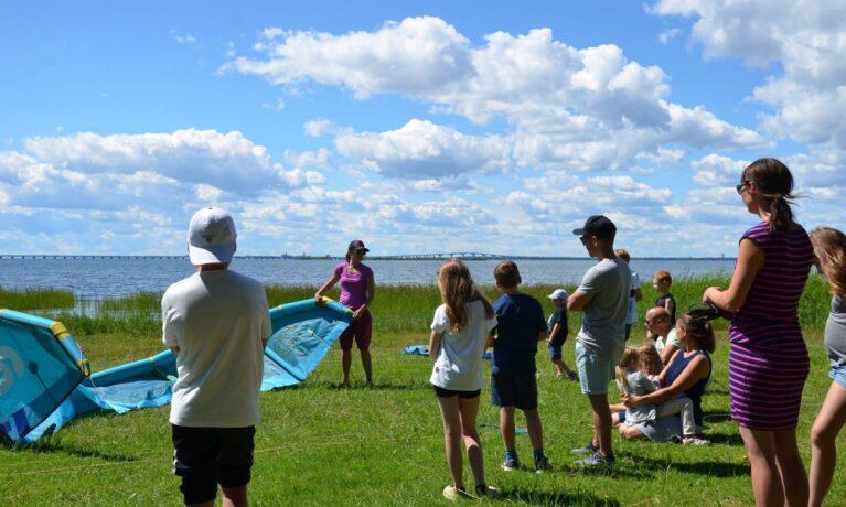 kitekurs på Öland
