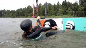 Vattenstart-kite-kurs-grundkurs