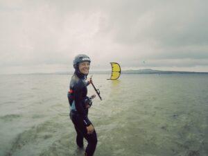 Kitesurfing som friskvård
