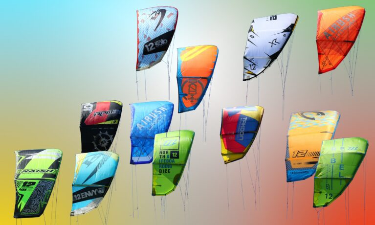 Kitesurf kite prestanda, typ, modell, freeride, freestyle