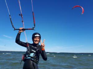 Kitesurf som friskvård