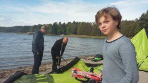 Kitekurs ungdomar young kiters