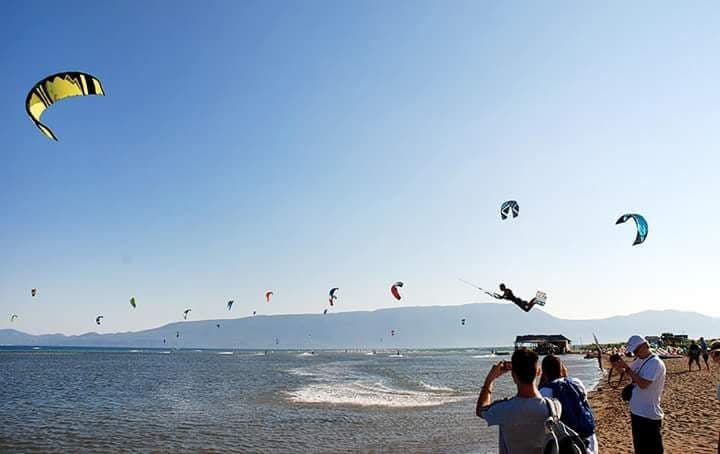 Kitesurf Neretva Kroatien
