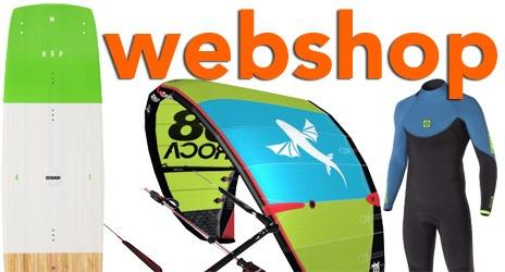 Kiteboardcenter webshop - kiteutrustning för alla