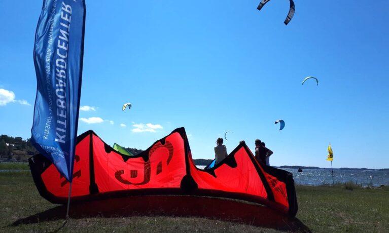 Handla kiteskolans utrustning