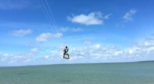 Kitesurf hopp. Sri Lanka