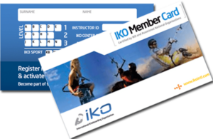 IKO certifikatet ditt internationella körkort för kitesurfing