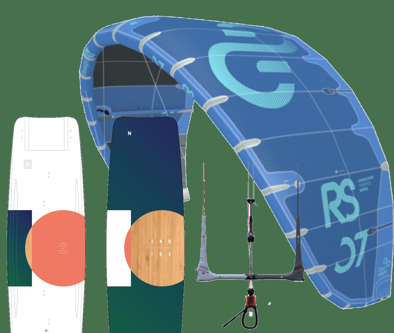 Kitepaket komplett kitesurfutrustning