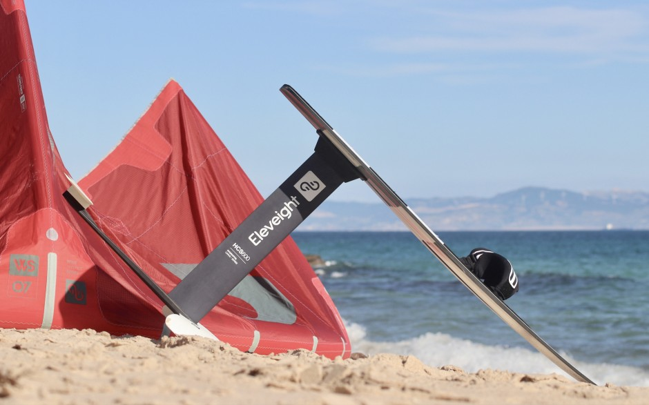 Kitesurf hydrofoil paket och lektioner
