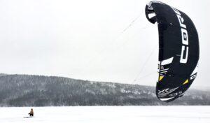 Snowkite i Åre