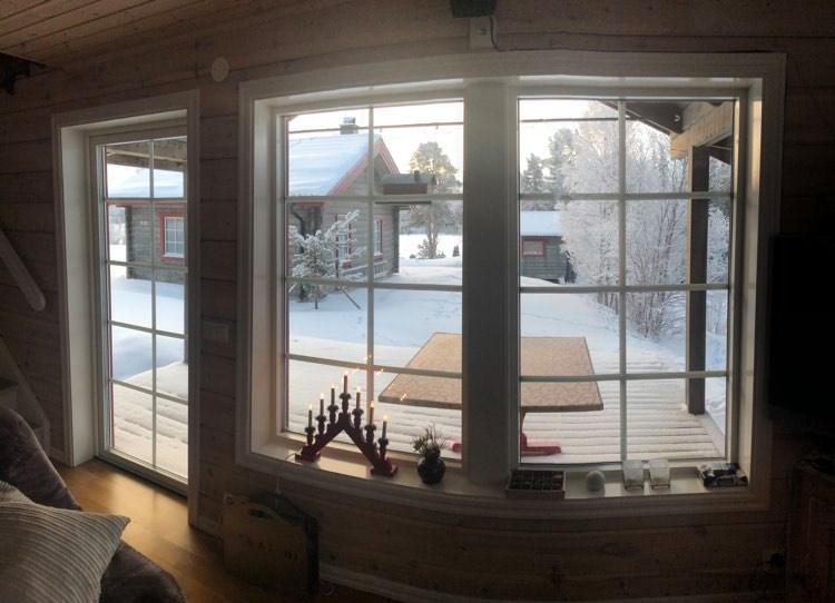 Stuga Tänndalen och snowkite kurs