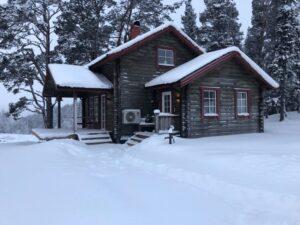 Stuga i Tänndalen snowkite