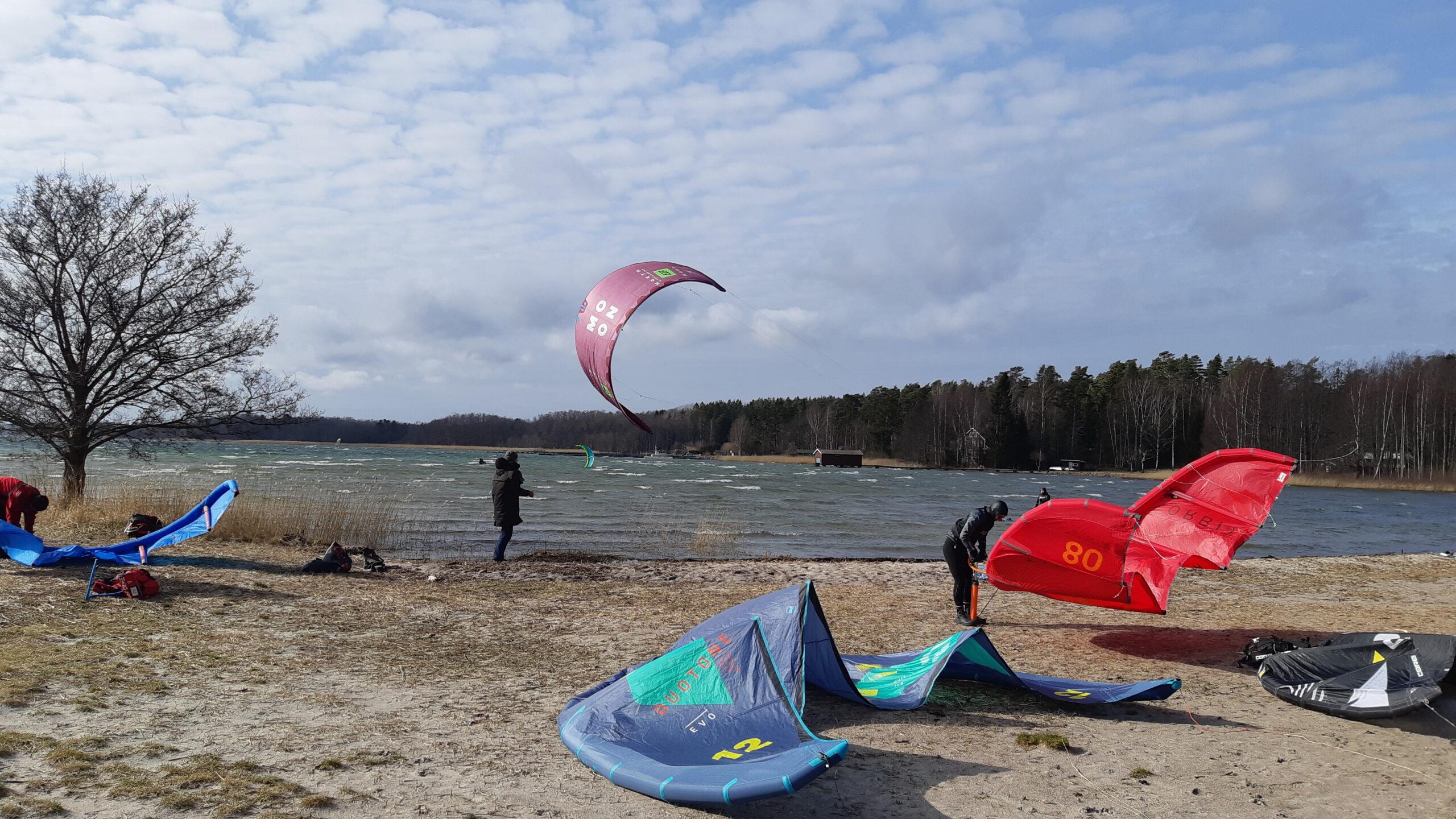 Kitesurfing Stockholm