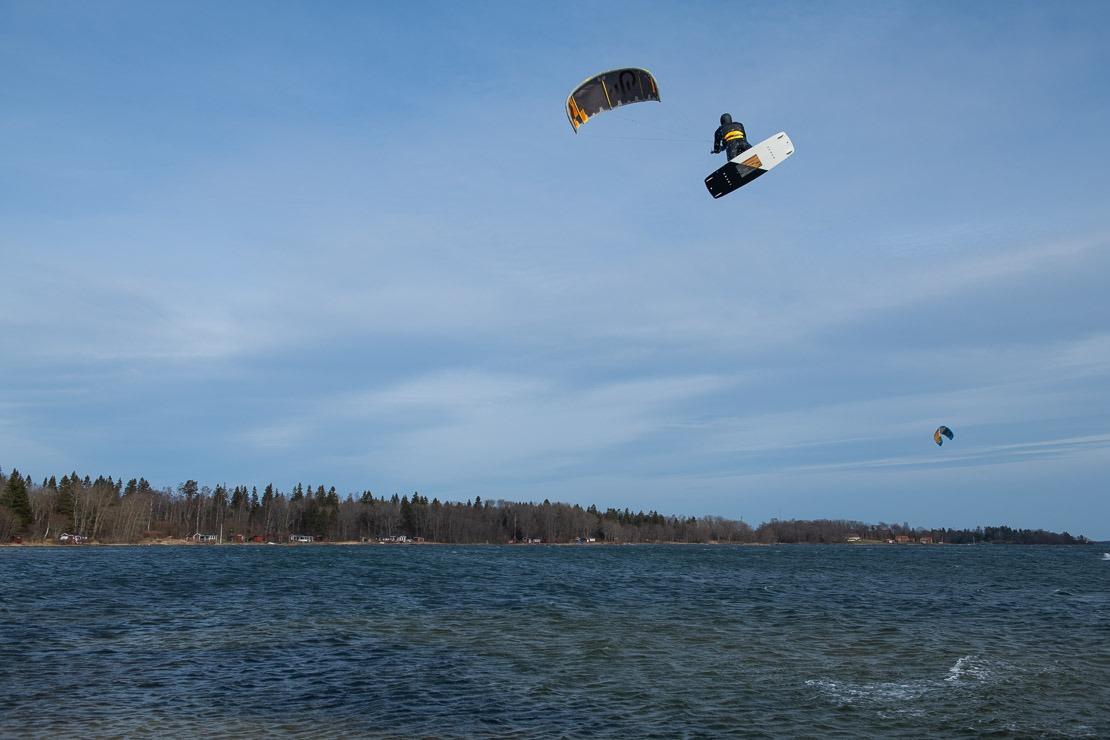 Kitesurf i Stockholm