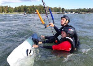 Kitesurfing grundkurs IKO